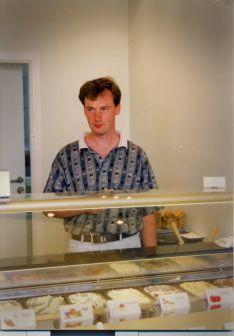 Pierwsze lody przygotował osobiście Robert Stykowski - 16.08.1997r.