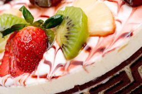 Element dekoracji tortu