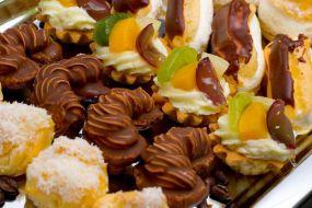 Wybór ciastek bankietowych