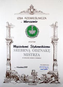 Srebrna Odznaka Mistrza